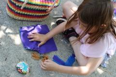 Violet-sewing